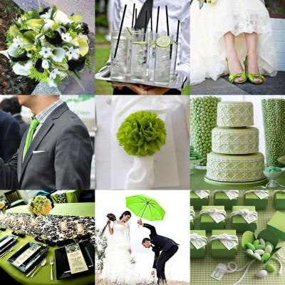 green and black wedding invitations