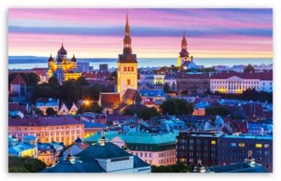 Beautiful City Lights 4K HD Desktop Wallpaper for • Dual Monitor Desktops • Tablet • Smartphone ...