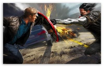 Captain America - The Winter Soldier 4K HD Desktop Wallpaper for 4K Ultra HD TV • Wide & Ultra ...