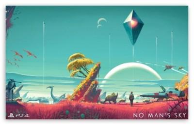 No Mans Sky 4K HD Desktop Wallpaper for 4K Ultra HD TV • Tablet • Smartphone • Mobile Devices