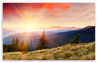 On Top Of A Mountain 4K HD Desktop Wallpaper for 4K Ultra HD TV • Dual Monitor Desktops • Tablet ...