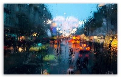 Rainy Weather 4K HD Desktop Wallpaper for 4K Ultra HD TV • Tablet • Smartphone • Mobile Devices