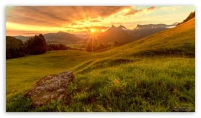 Sun Rays Through Clouds 4K HD Desktop Wallpaper for 4K Ultra HD TV • Dual Monitor Desktops ...