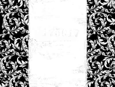 Black And White Wallpaper Border 4 Wide Wallpaper - Hdblackwallpaper.com