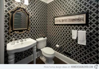 Black And White Wallpaper For Bathroom 34 Wide Wallpaper - Hdblackwallpaper.com