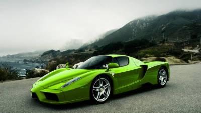 Green And Black Ferrari Wallpaper 6 Background - Hdblackwallpaper.com