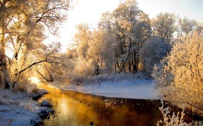 winter stream wallpapers - HD Desktop Wallpapers | 4k HD