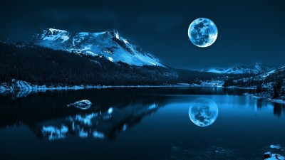 moon-beautiful-hd-free-wallpapers - HD Wallpaper
