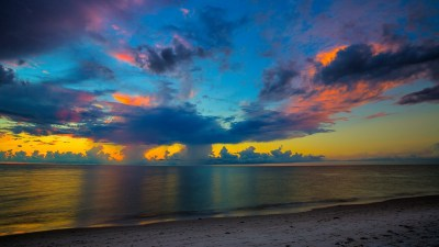 2048x1152 Florida Beach Sunset 2048x1152 Resolution HD 4k Wallpapers, Images, Backgrounds ...