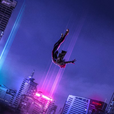 2048x2048 SpiderMan Into The Spider Verse Art Ipad Air HD 4k Wallpapers, Images, Backgrounds ...