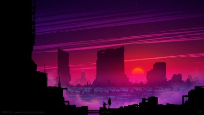 Synthwave Future Scifi 5k, HD Artist, 4k Wallpapers, Images, Backgrounds, Photos and Pictures