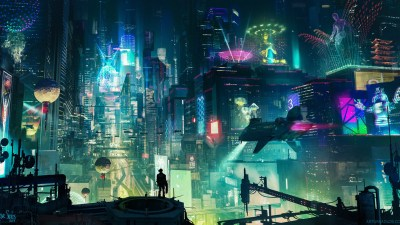 1920x1080 Cyberpunk City Laptop Full HD 1080P HD 4k Wallpapers, Images, Backgrounds, Photos and ...