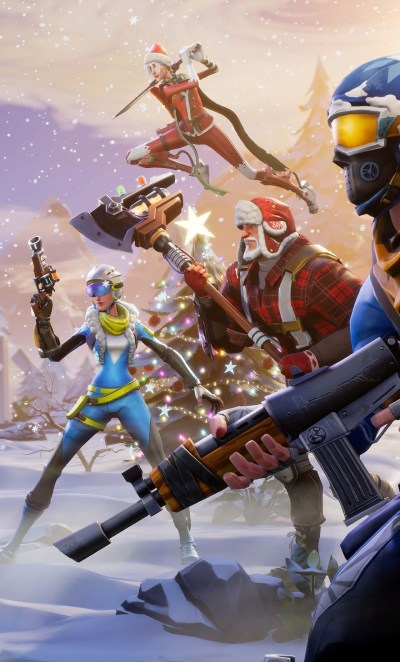 1280x2120 Fortnite Winter Season iPhone 6+ HD 4k Wallpapers, Images, Backgrounds, Photos and ...
