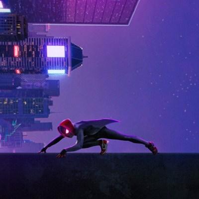 2932x2932 Miles Morales In Spider Man Into The Spider Verse Movie Art Ipad Pro Retina Display HD ...