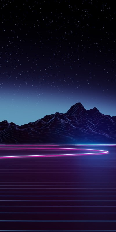 1080x2160 Neon Highway 4k One Plus 5T,Honor 7x,Honor view 10,Lg Q6 HD 4k Wallpapers, Images ...