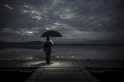 Alone man With Umbrella, HD Love, 4k Wallpapers, Images, Backgrounds, Photos and Pictures