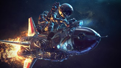 Astronaut Rocket Science Fiction 4k, HD Artist, 4k Wallpapers, Images, Backgrounds, Photos and ...