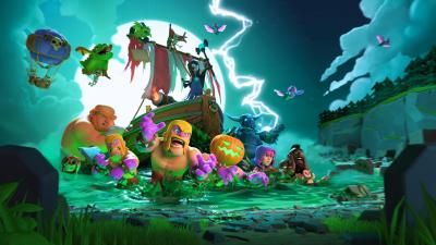 Clash Of Clans Halloween 4k, HD Games, 4k Wallpapers, Images, Backgrounds, Photos and Pictures