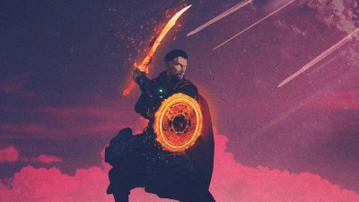 Doctor Strange Minimal, HD Superheroes, 4k Wallpapers, Images, Backgrounds, Photos and Pictures