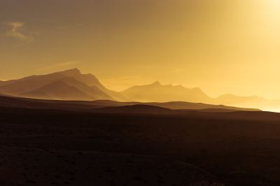 Golden Hour Orange Sunrise Mountains View, HD Nature, 4k Wallpapers, Images, Backgrounds, Photos ...
