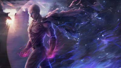 Saitama One Punch Man Artwork, HD Anime, 4k Wallpapers, Images, Backgrounds, Photos and Pictures