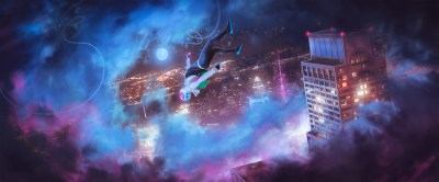 Spider Gwen Into The Spider Verse, HD Superheroes, 4k Wallpapers, Images, Backgrounds, Photos ...