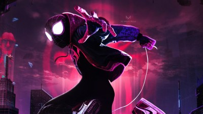 SpiderMan Into The Spider Verse Movie New Arts, HD Movies, 4k Wallpapers, Images, Backgrounds ...