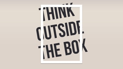 Think Outside The Box, HD Typography, 4k Wallpapers, Images, Backgrounds, Photos and Pictures