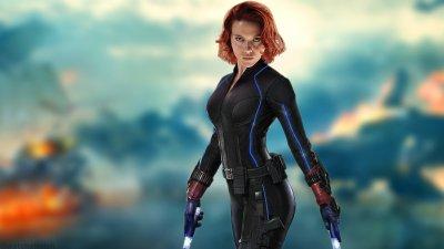 Scarlett Johansson, Redhead, Women, Black Widow, The Avengers, Avengers: Age of Ultron HD ...