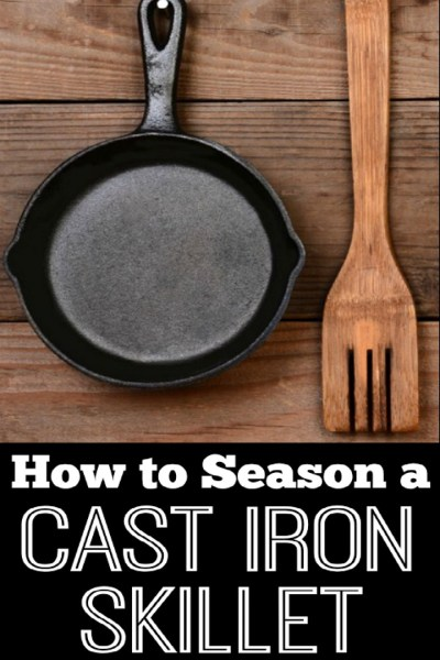 Healthy Cooking: How to Season a Cast Iron Skillet - HealthPositiveInfo