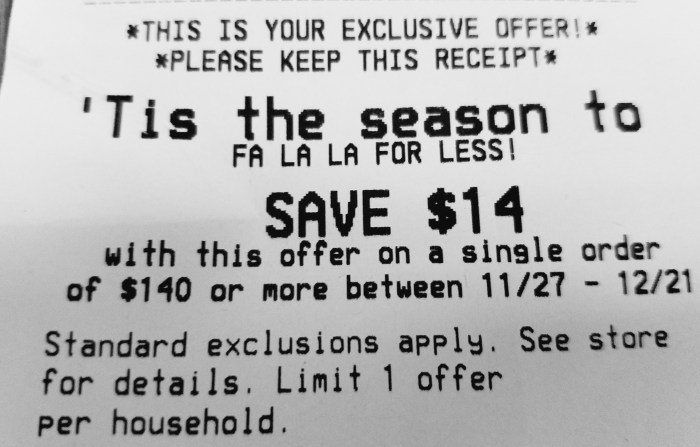 Check the Bottom of Your Kroger Receipts - Hip2Save