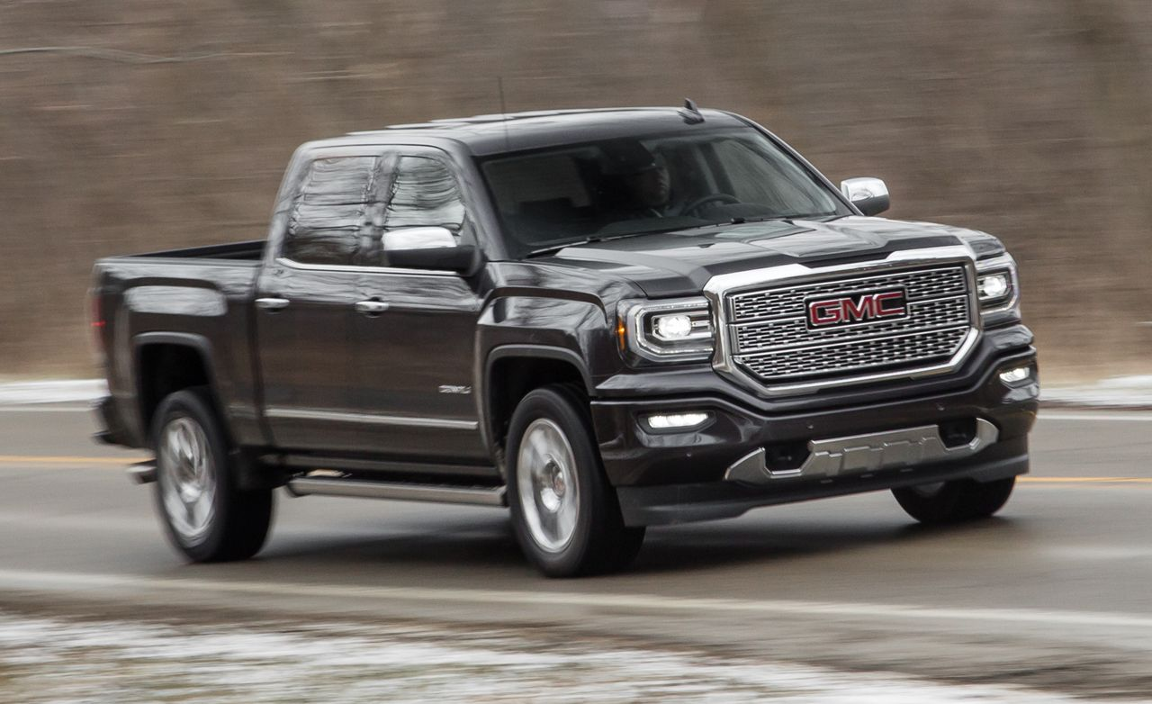 2016 GMC Sierra 1500 Denali 6 2L V 8 4x4 Test   Review   Car and Driver 2016 GMC Sierra 1500 Denali 6 2L V 8 4x4
