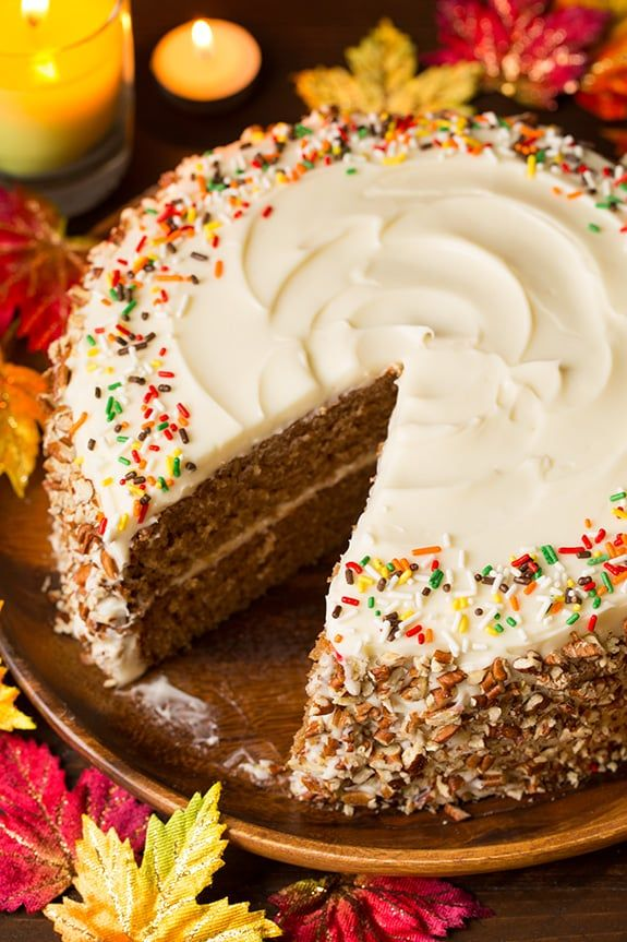 20 Thanksgiving Cake Ideas   Holiday Cake Decorating Ideas for     20 Thanksgiving Cake Ideas   Holiday Cake Decorating Ideas for Thanksgiving  and Recipes