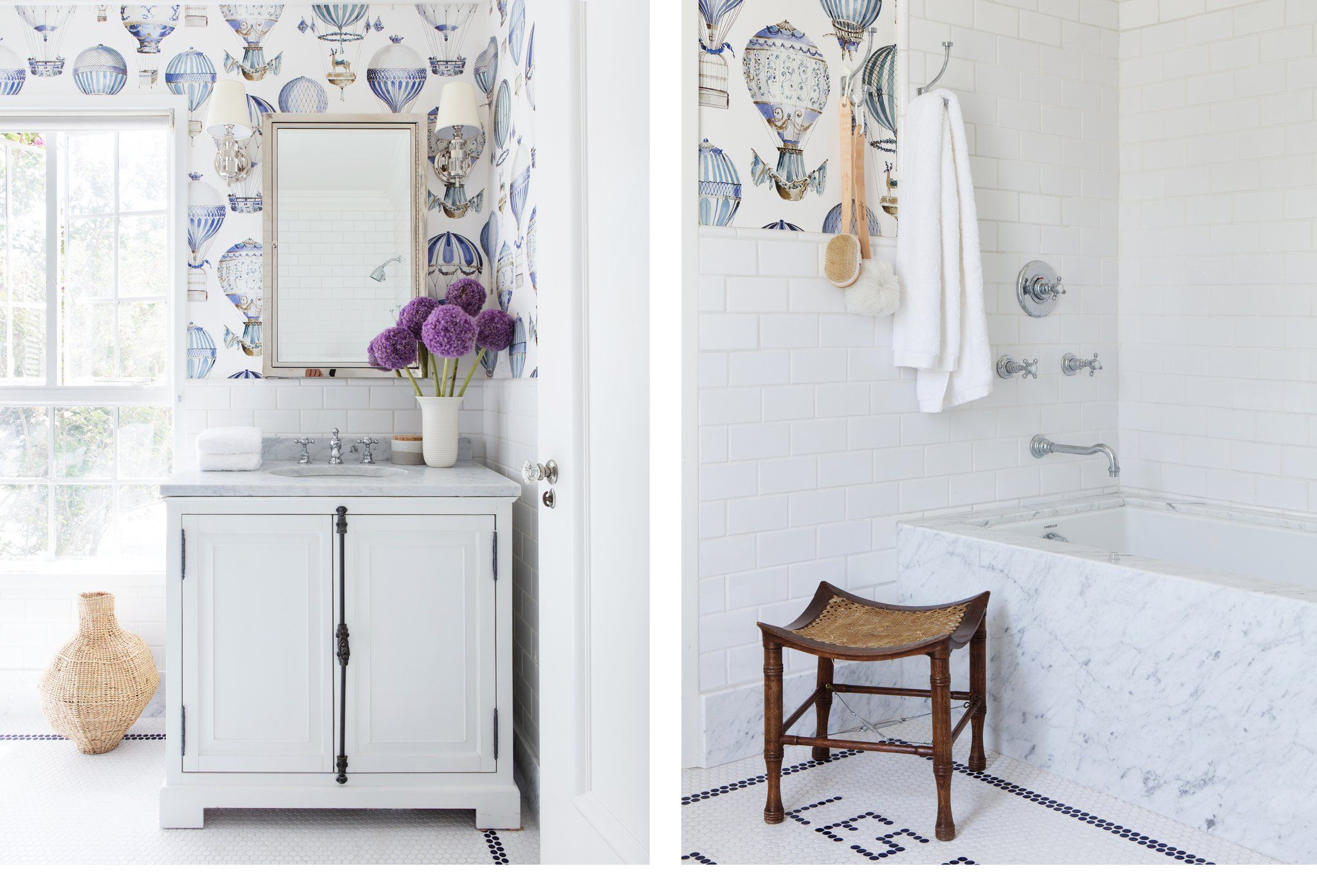 28 Bathroom Wallpaper Ideas That Will Inspire You to be Bold - Wallpaper for Bathrooms