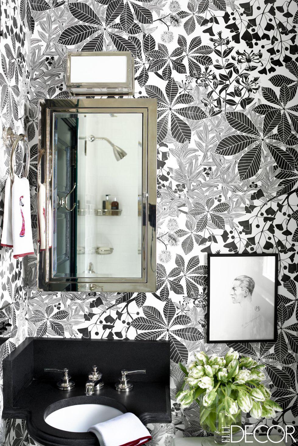 Best Bathroom Wallpaper Ideas - 17 Beautiful Bathroom Wall Coverings