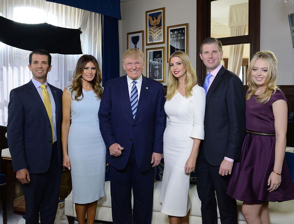 Donald Trump Kids - About Donald Trump Jr., Eric Trump, Ivanka Trump, Tiffany Trump, and Barron ...