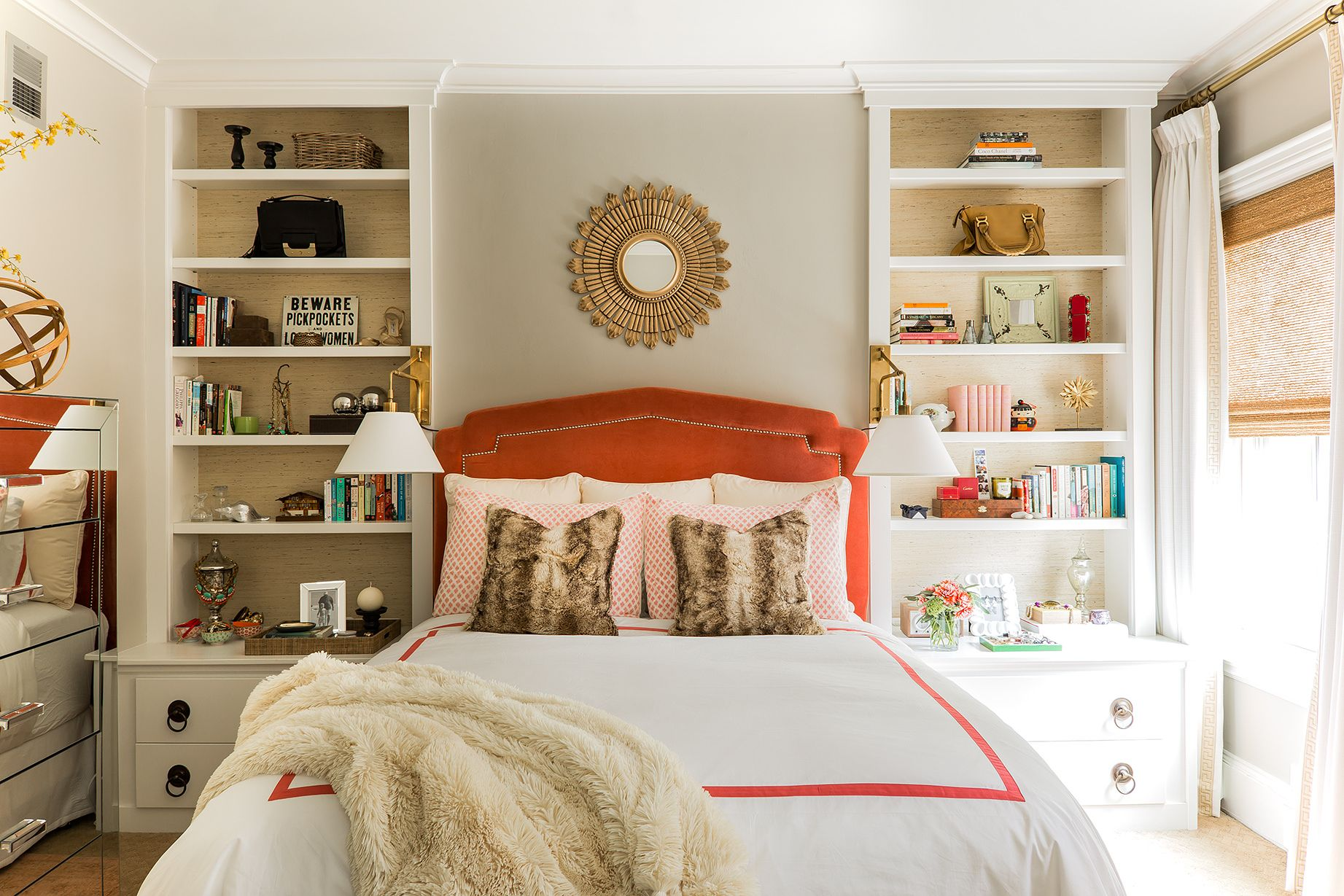 17 Small Bedroom Design Ideas   How to Decorate a Small Bedroom Courtesy of Erin Gates Design