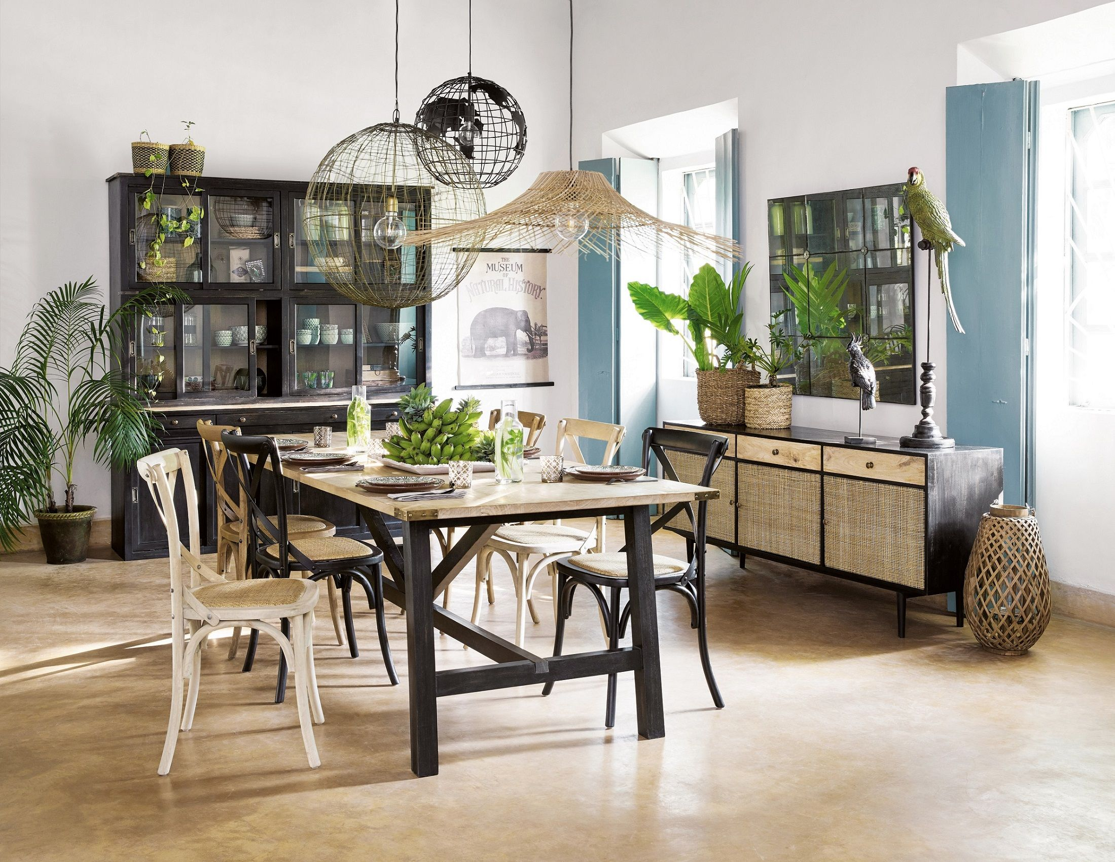 Maisons du Monde Is Opening Mini Shops In Debenhams stores Maisons du Monde interior   dining room
