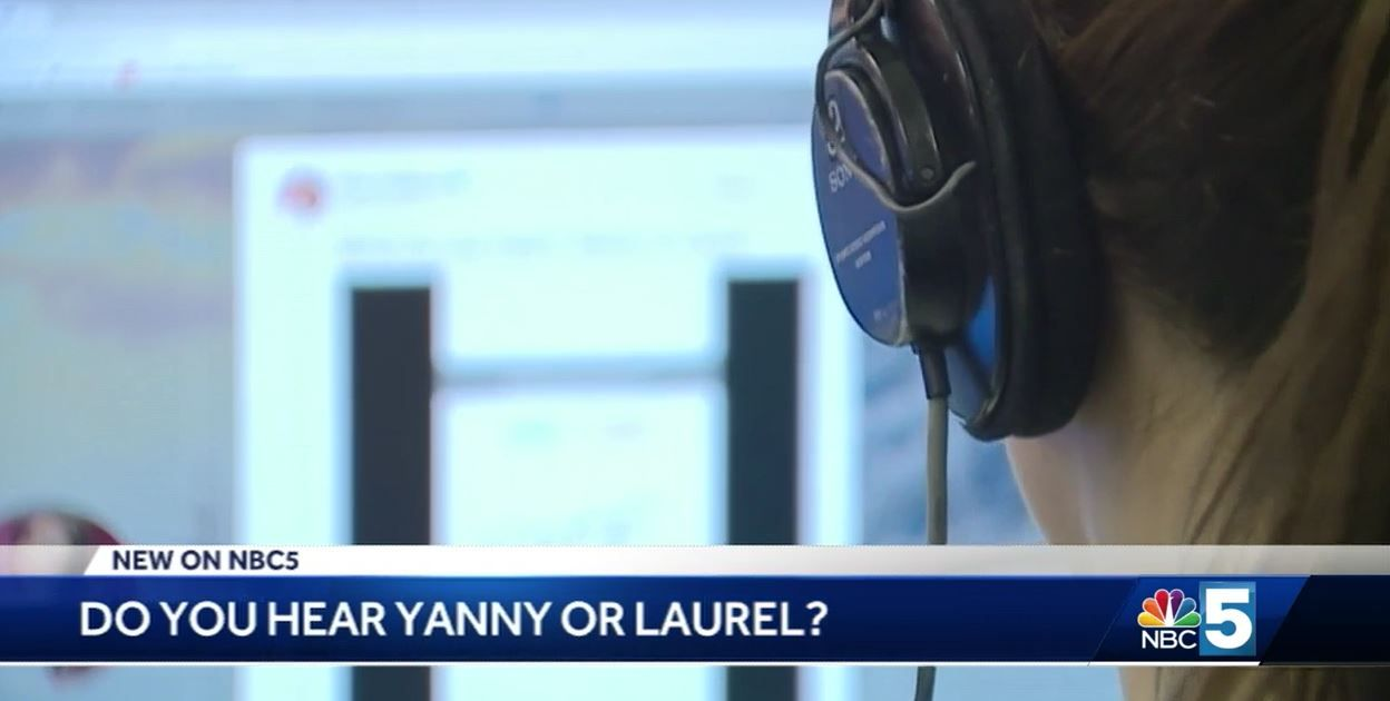 Noise from viral video sparks  Yanny  or  Laurel  debate