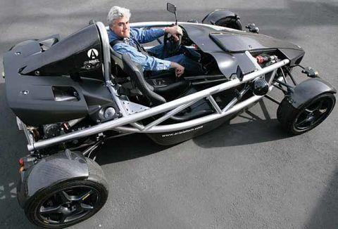 Jay Leno Drives Street-Legal Go-Kart, Lightweight Sports Cars