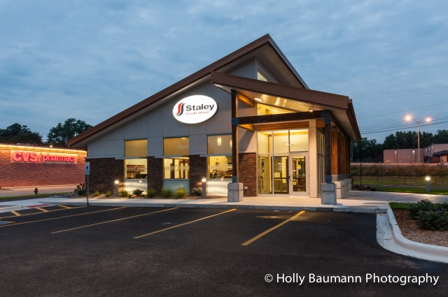 New Staley Credit Union Branch in Decatur IL (Interiors / Exteriors / Central Illinois ...