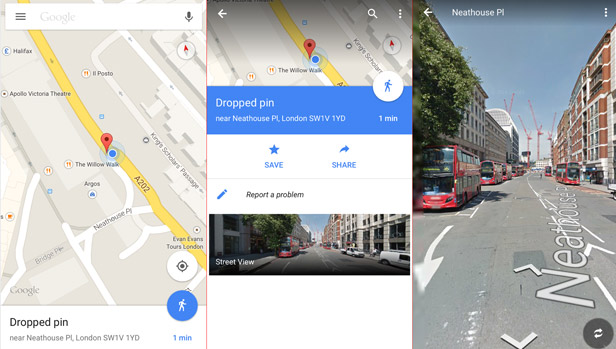 7 great tips and tricks for getting more out of Google Maps   BT Google Street View mobile device