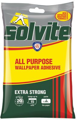 Solvite Paste the Wall Wallpaper Adhesive - 15 Roll