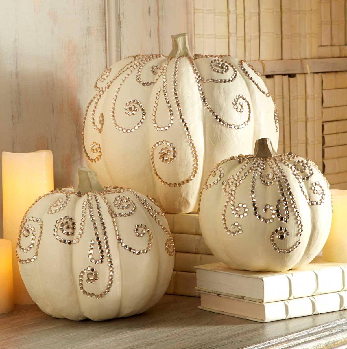 28 Best No Carve Pumpkin Decorating Ideas and Designs for 2018 7  Bedazzled and Bewitched