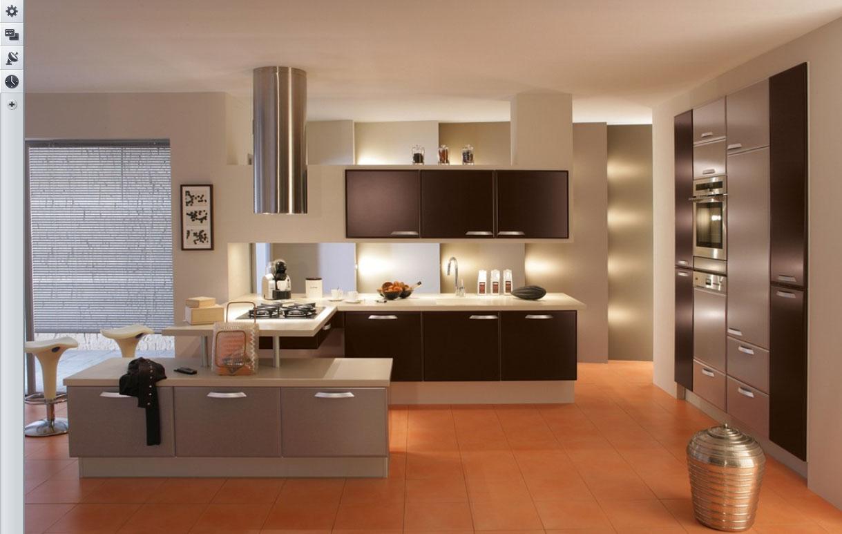 Kitchen plan designed by virtual tool kitchen planner Home Depot that describes minimalist kitchen