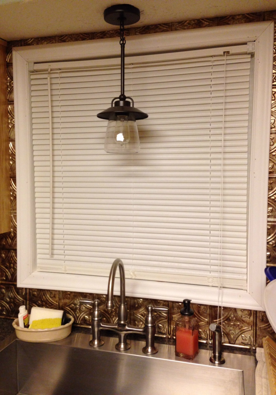 lighting over kitchen sink light over kitchen sink Mason jar pendant lamp for kitchen sink lighting
