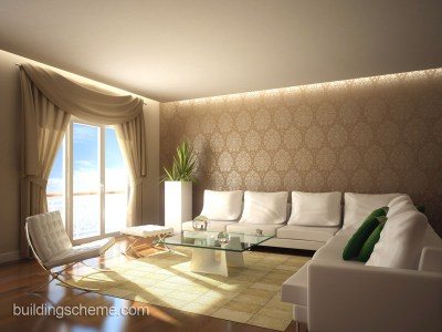 Surprising Wallpaper Design for Living Room | HomesFeed