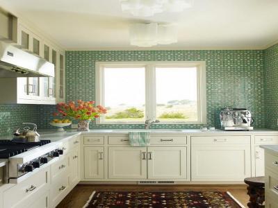 Wallpaper for Kitchen Backsplash | HomesFeed