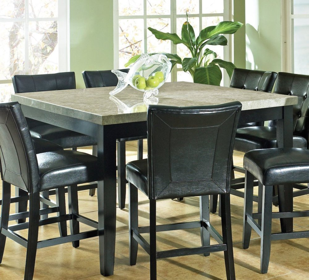 granite dining table set granite kitchen table Piece Stone Inserted Dining Table