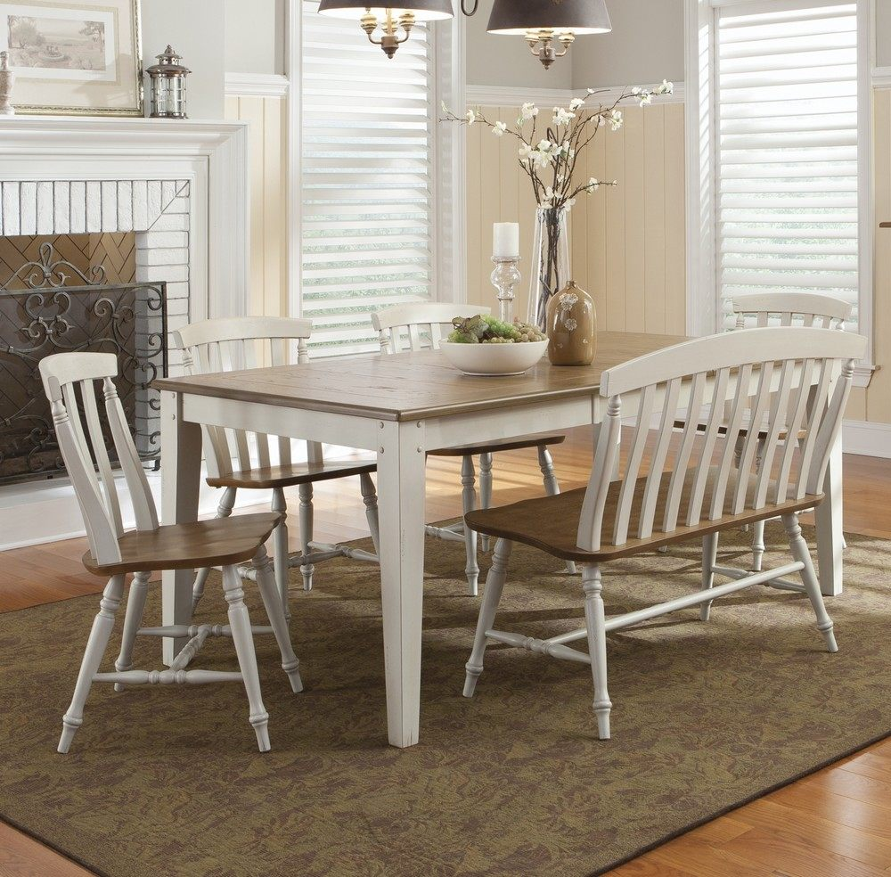 dining table with benches kitchen table with benches DIY 40 Bench For The Dining Table